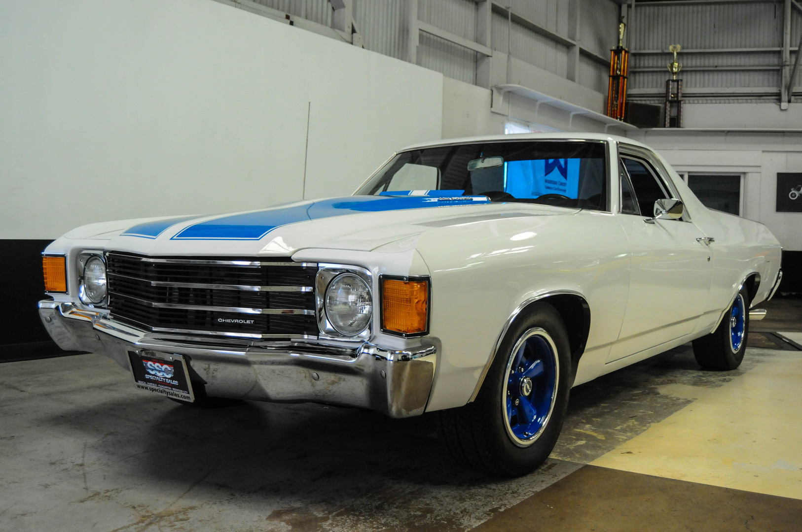 1972 chevrolet el camino 2 door custom pickup sold