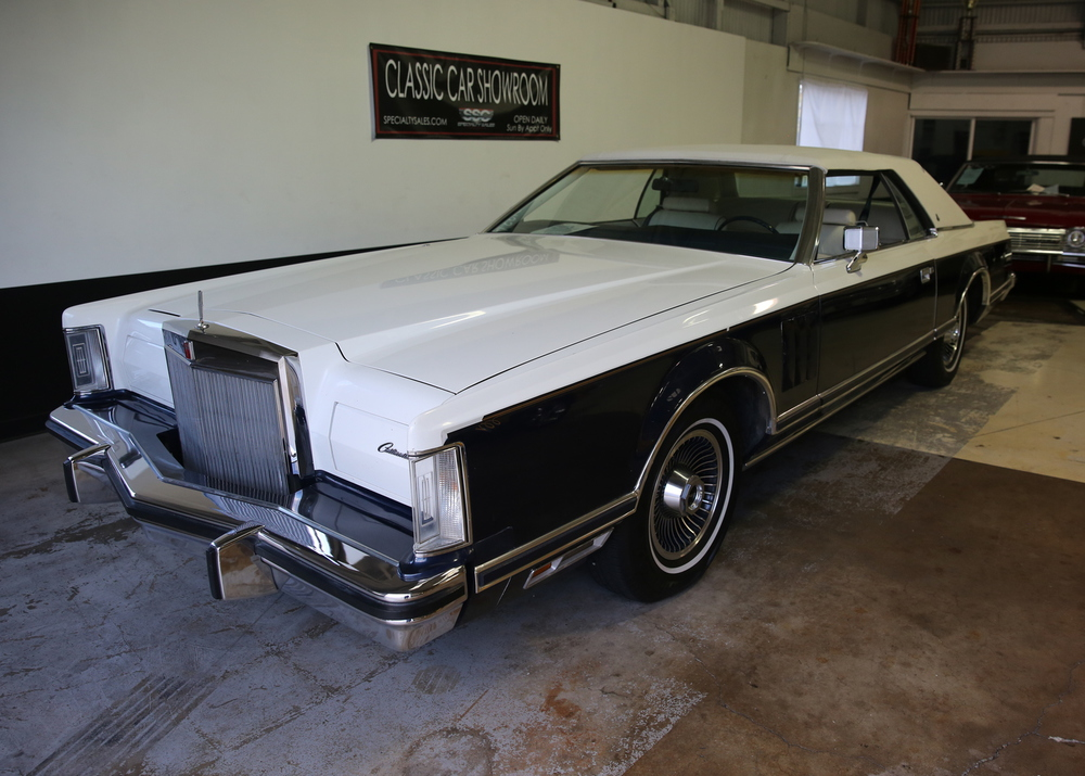 1979 Lincoln Continental Bill Blass 2 Door Coupe for sale