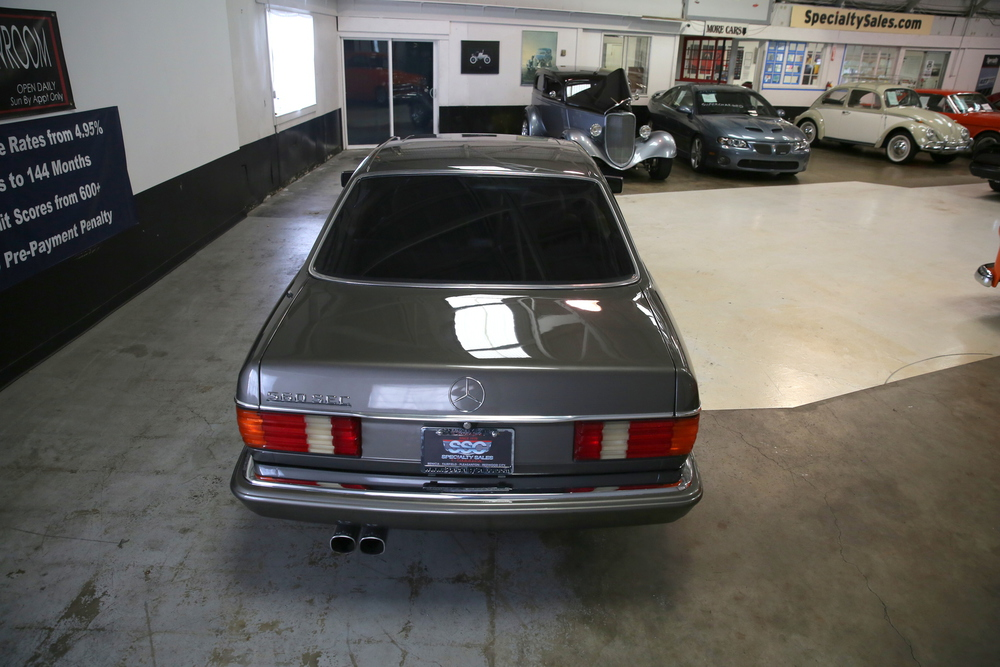 1987 Mercedes Benz 560SEC No trim field 2 Door Coupe for sale