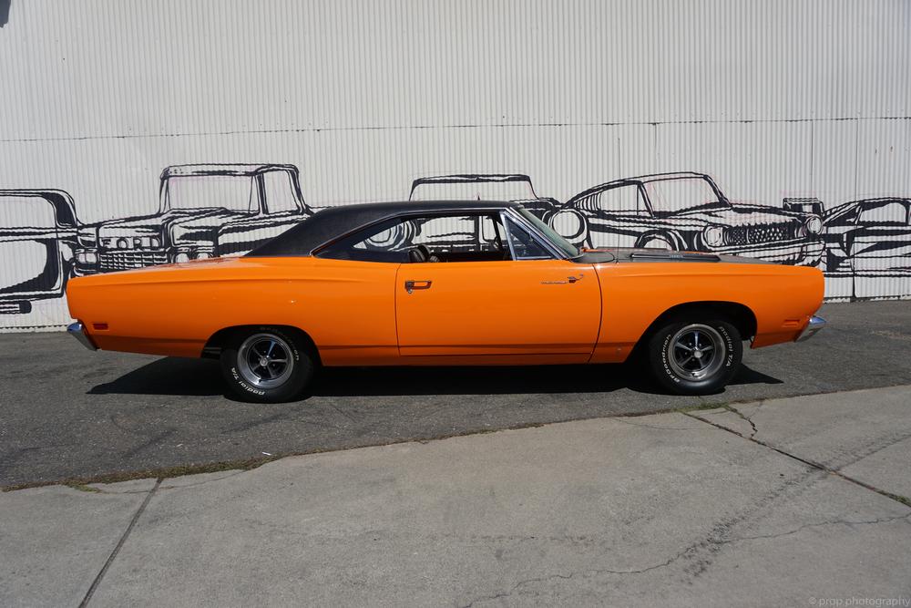 1969 Plymouth Roadrunner No trim field 2 Door Hardtop for sale