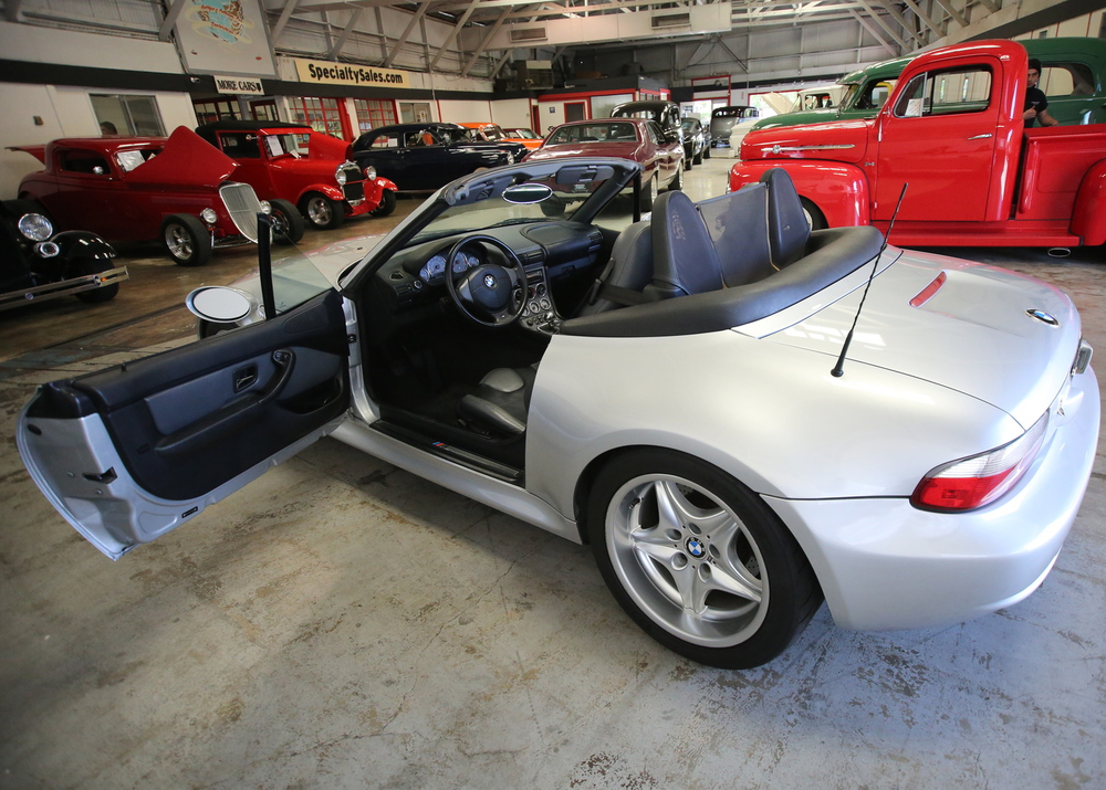 2001 BMW M Roadster No trim field 2 Door Convertible for sale