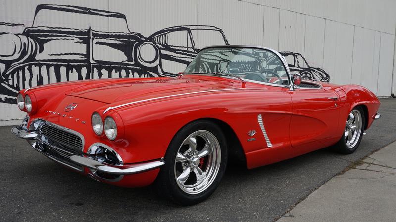 1962 Chevrolet Corvette No trim field 2 Door Convertible for sale