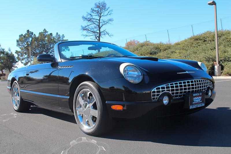 2002 Ford Thunderbird No trim field 2 Door Convertible for sale