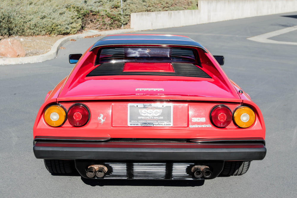 1985 Ferrari 308 GTS Quattrovalvole 2 Door Coupe for sale