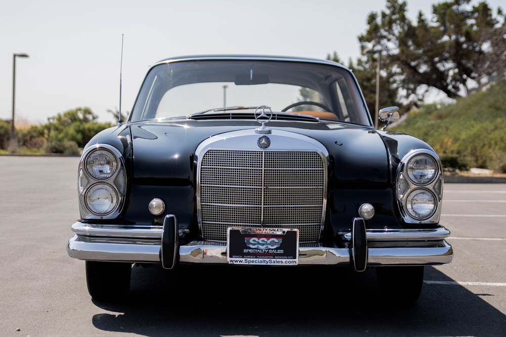 1963 Mercedes Benz 220SEB No trim field 2 Door Coupe for sale