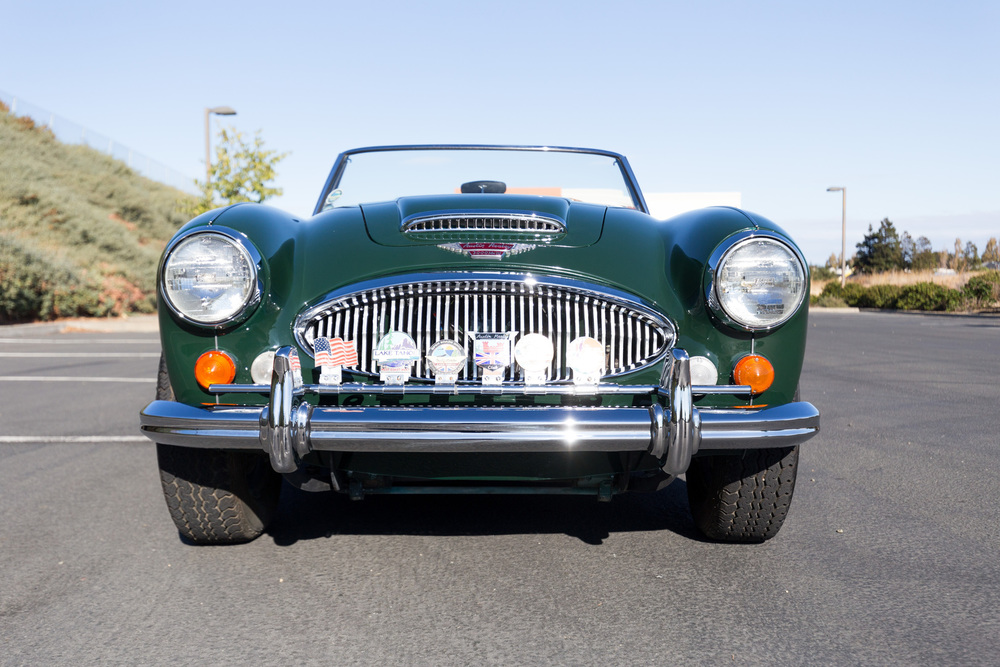 1966 Austin Healey 3000 Mark III BJ8 Phase II 2 Door Convertible for sale