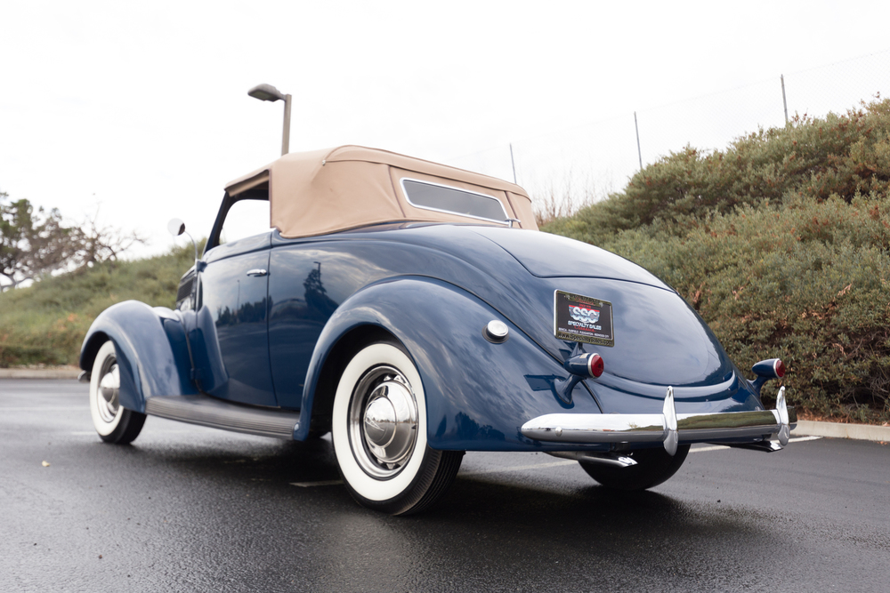 1937 Ford Model 78 Deluxe 2 Door Cabriolet for sale