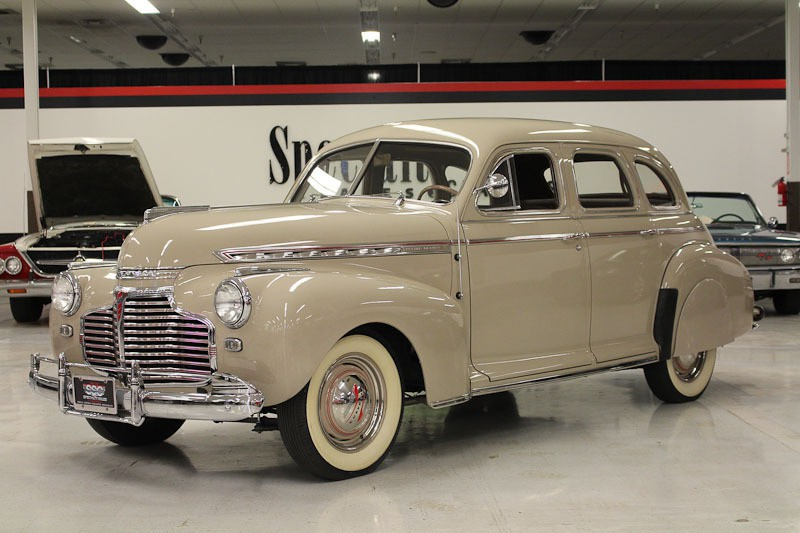 Chevrolet vehicles specialty sales classics for 1941 chevy 4 door sedan