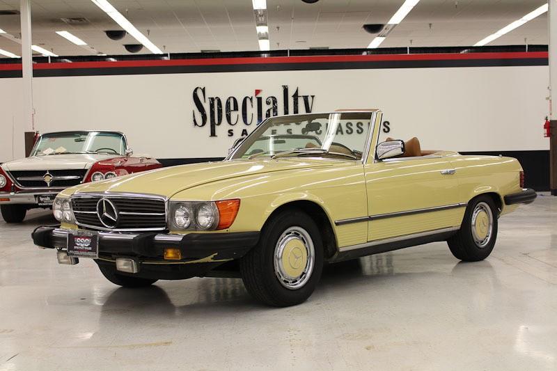 Mercedes benz vehicles specialty sales classics for 1976 mercedes benz 450sl