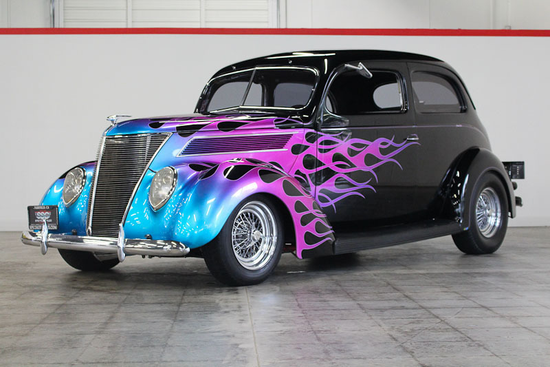 1937 Ford Tudor Humpback 2 Door Coupe for sale