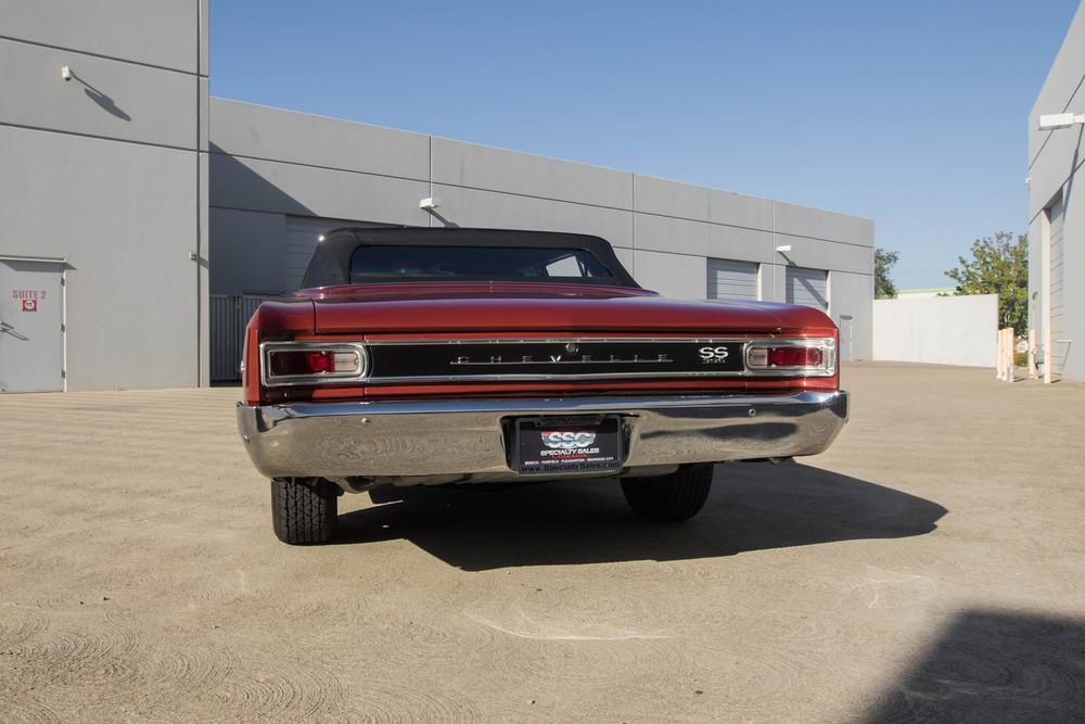 1966 Chevrolet Chevelle Super Sport 2 Door Convertible for sale