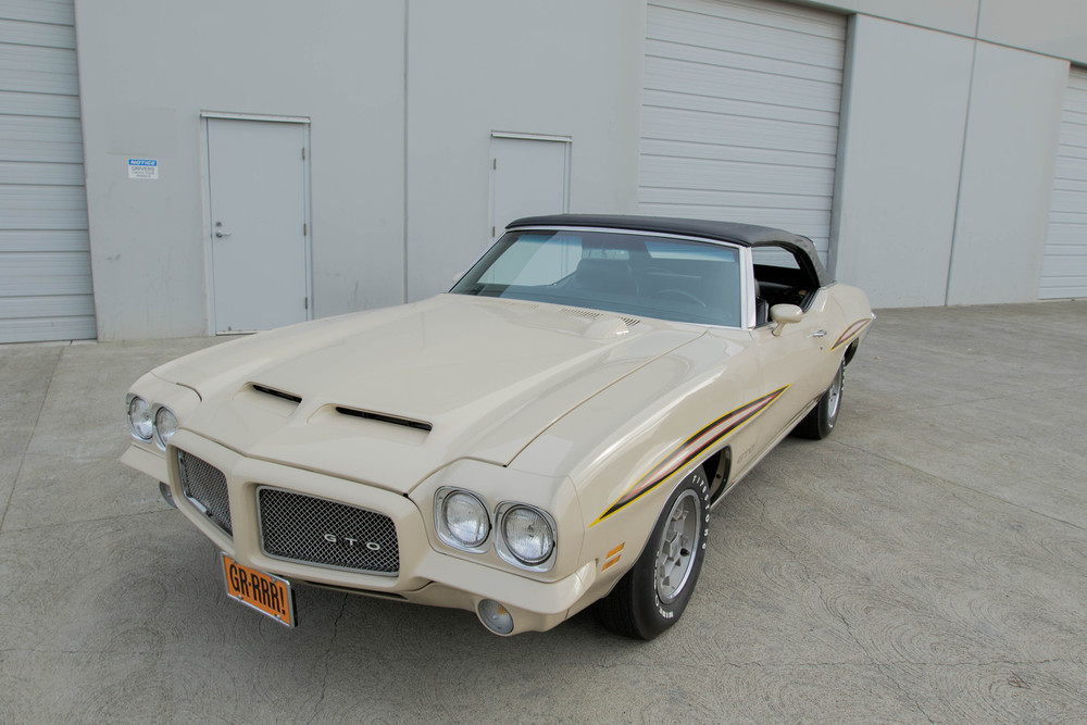 1971 Pontiac GTO No trim field 2 Door Convertible for sale