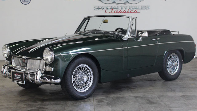 1967 MG Midget Mark III 2 Door Roadster for sale